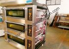 7kw Single Deck Electric Pizza Oven Energy Saving One Tray Size 400x600mm