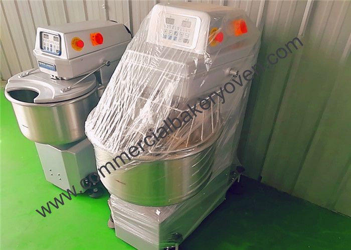 Safety Bakery Equipment Spiral Mixer , Clean Easily Spiral Dough Mixer